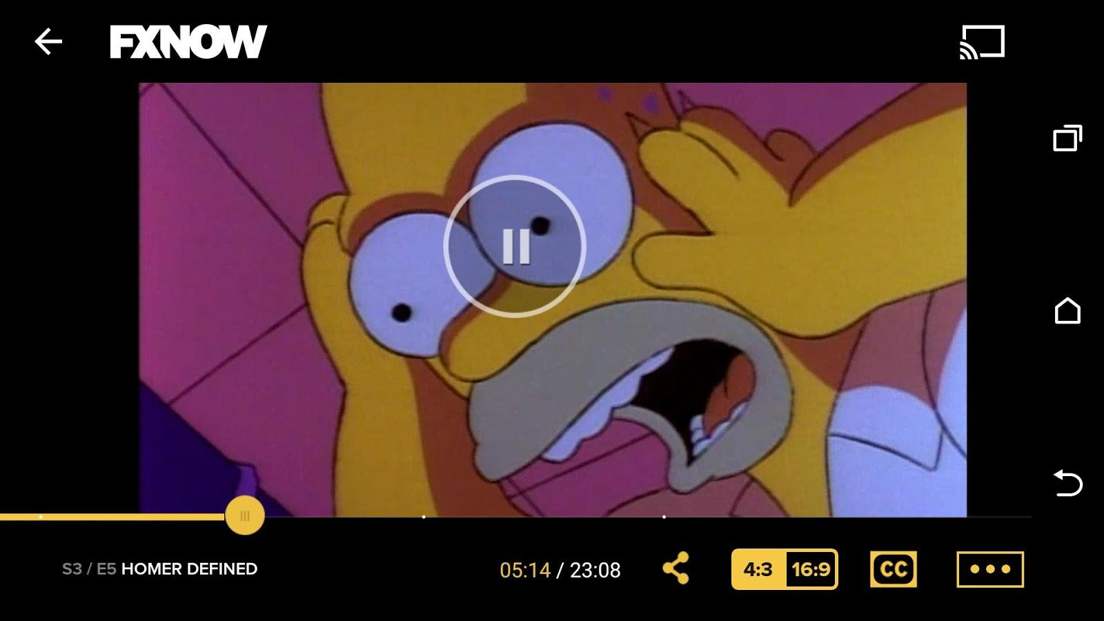 FXNOW- screenshot