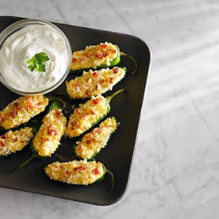 Bacon Corn Jalapeno Poppers.