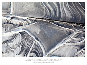 Photo: Abstract Ice Patterns  Here's another shot from the Nidderdale shoot last week. These abstract patterns had formed in the ice along the edge of a shallow pool of floodwater on the grass.  Canon EOS 5D MkII, EF70-200mm f/4L USM at 200mm, ISO 100, 0.5s at f22