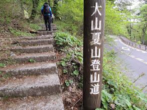 Photo: この書き方だと冬用登山道もあるみたいだ・・