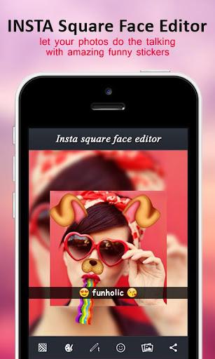 Insta Square Face Editor 1.2 screenshots 1