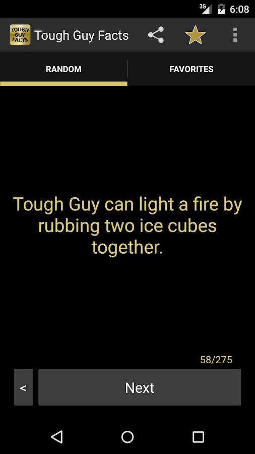 Tough Guy Facts (OLD)- screenshot
