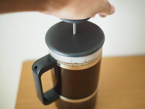 無印のコーヒープレス