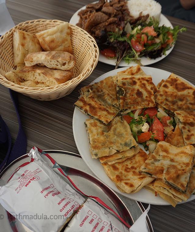 Kebab and Gozleme