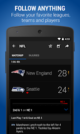 theScore: Sports & Scores Screenshot 1