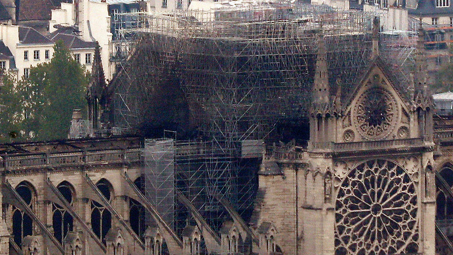 Short-circuit 'most likely cause' of Notre Dame blaze