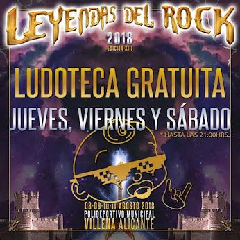 leyendas del rock ludoteca