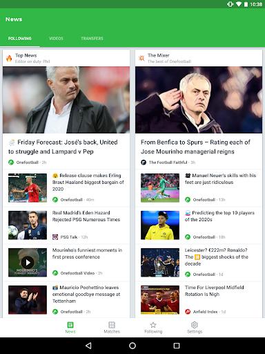Onefootball - Soccer Scores screenshot 18