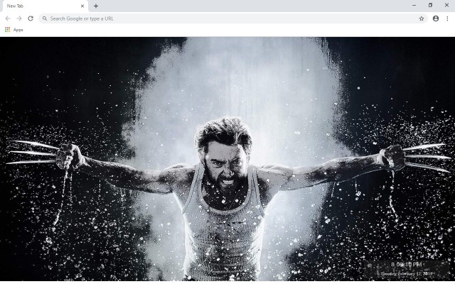 X Men Wolverine New Tab