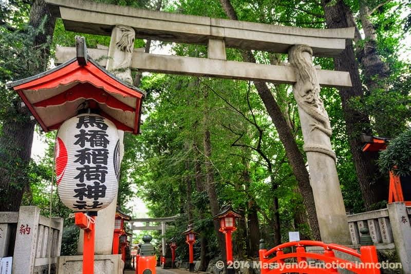 馬橋稲荷神社とちょうちん