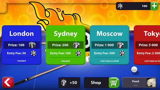 Code Triche Pool King - 8 Ball Pool en ligne Multijoueur APK MOD screenshots 2