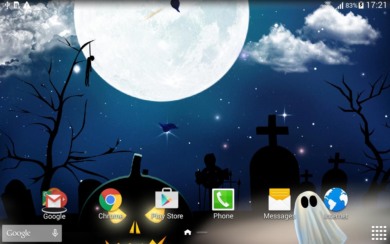 halloween wallpaper screenshot - Halloween Wallpapaer
