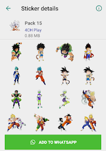 Dragon Ball Stickers (2019) 1