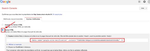 configuration-googlesearchconsole