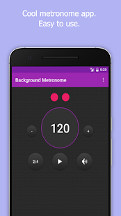 Background Metronome- screenshot thumbnail