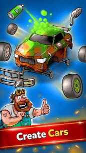 Battle Car Tycoon Idle Merge games mod 5