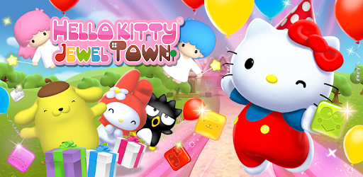 Hello Kitty Jewel Town Match 3 Apps On Google Play