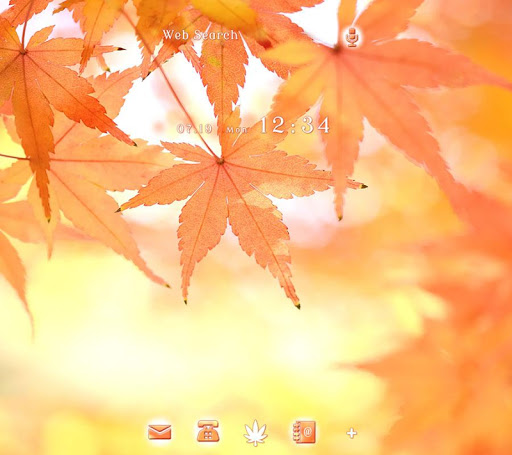 Fall Leaves +HOME Theme