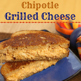 Salsa Chicken Chipotle Grilled Cheese Sandwich.