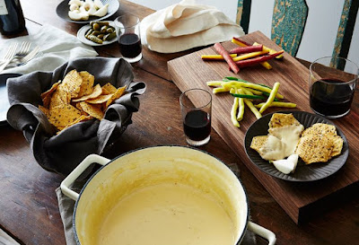 Get wild with fondue and this playlist