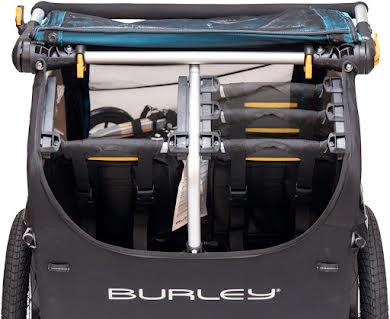 Burley D'Lite X Child Trailer: Aqua alternate image 0