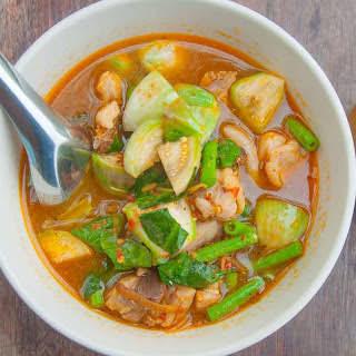 Thai Pineapple Vegetarian Curry.
