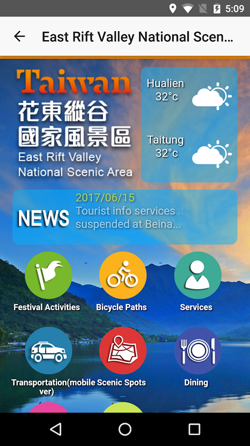 Tour Taiwan- screenshot
