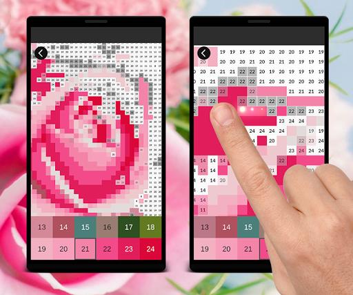 Coloring Flowers Pixel Art Game cheat hacks