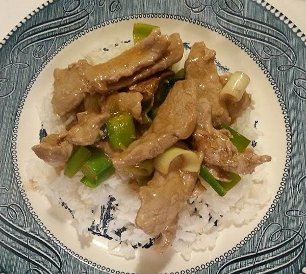 Stir-fried Pork And Leeks Recipe