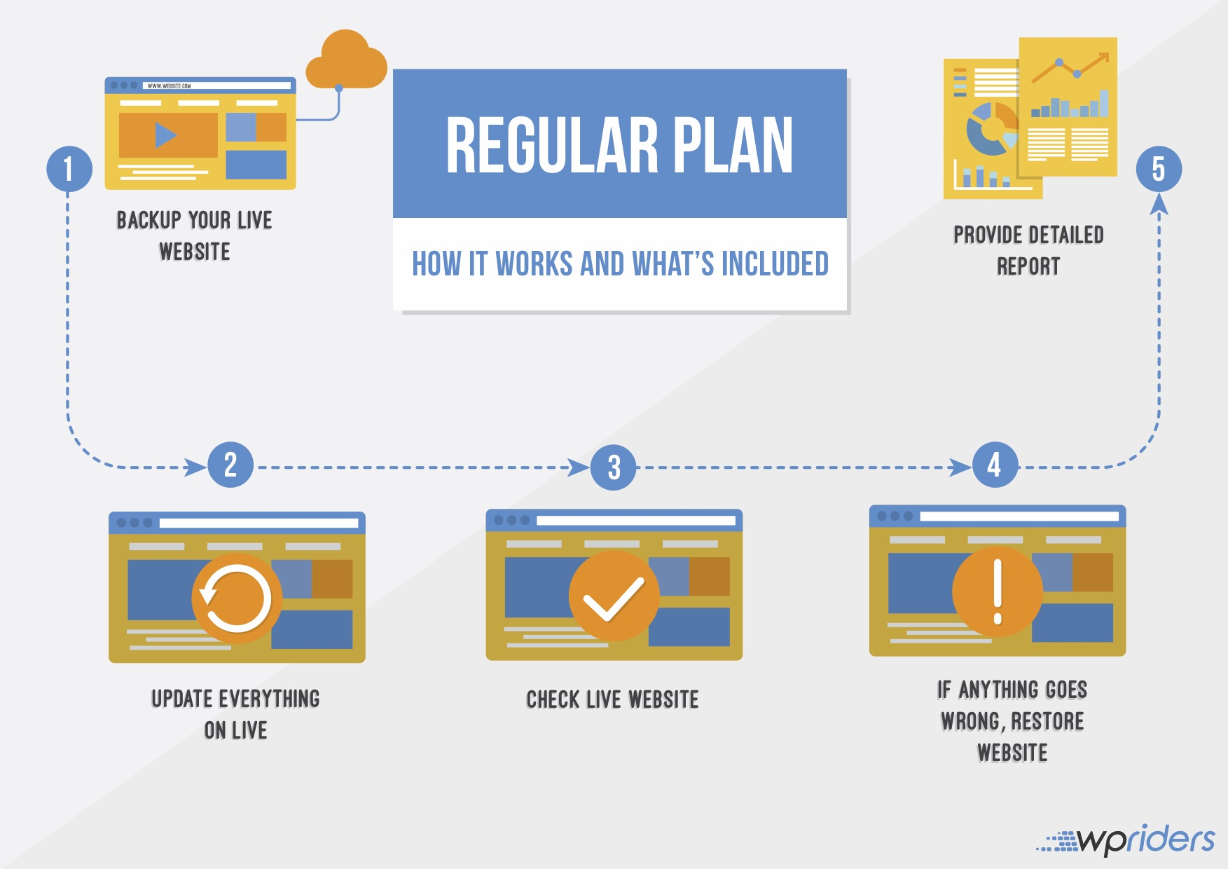 WordPress Updates Regular Plan