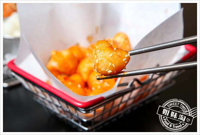 大月韓食創意料理菜單炸年糕