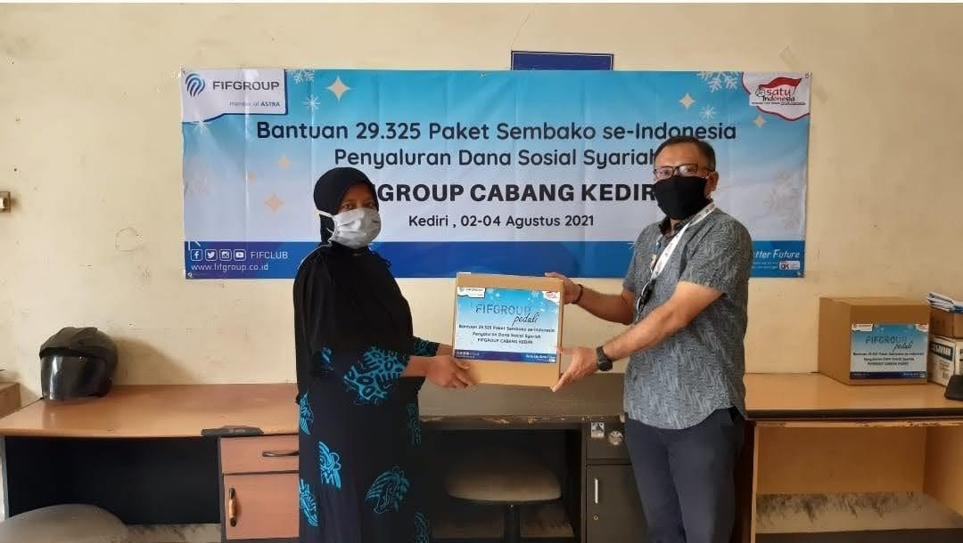 FIF GROUP Salurkan 115.197 Paket Sembako Selama Pandemi Senilai Rp 23,853 Miliar