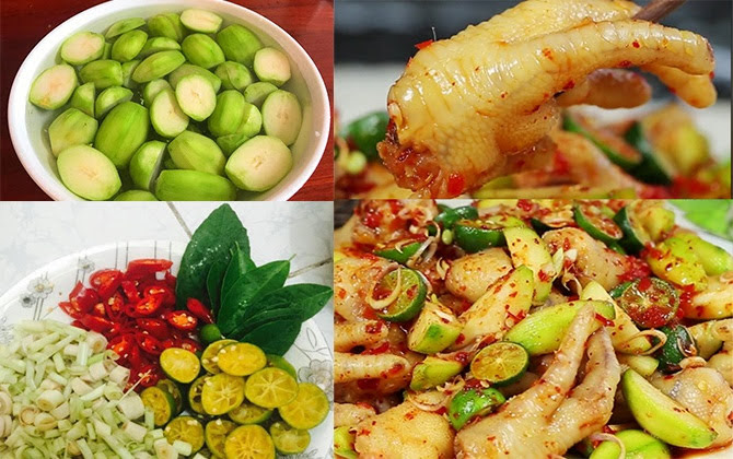 Cách làm chân gà trộn cóc bao tử chua chua giòn giòn, ai ăn cũng mê mẩn