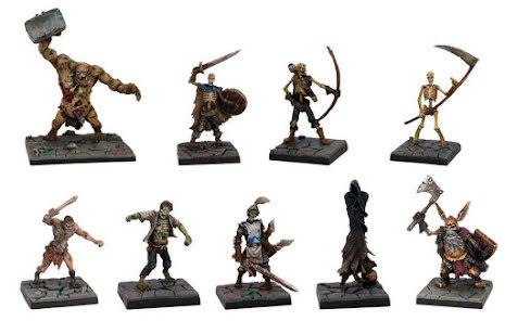 Dungeon Saga: Evil Dead Miniatures Set