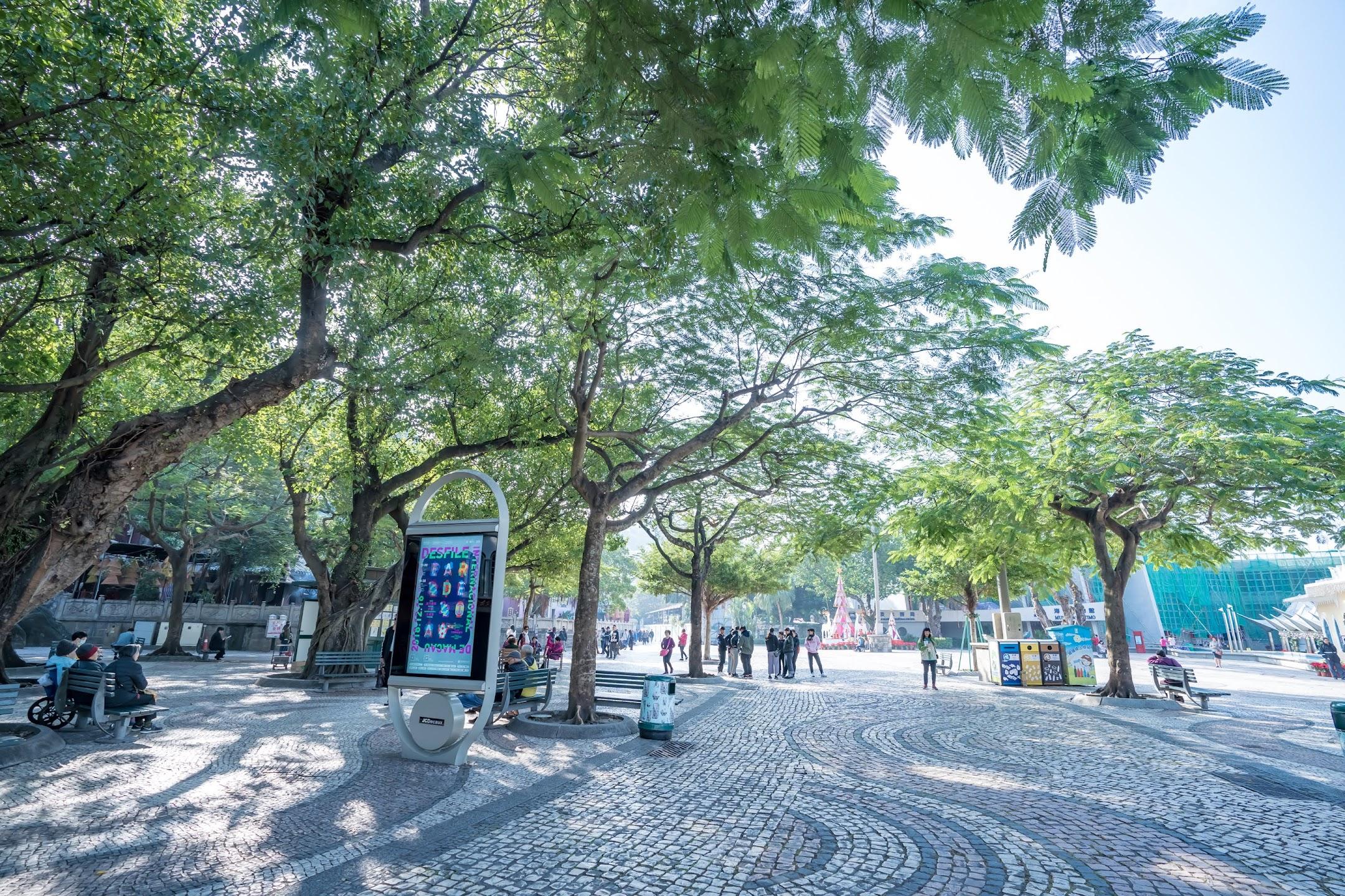 マカオ バラ広場(Barra Square/媽閣廟前地/Rua da Barra)1