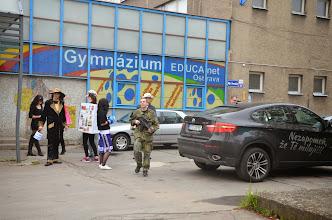 Photo: Poslední zvonění třídy 4. A (2010 - 2014) - úterý 29. duben 2014.