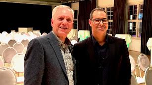 Henri Oosthoek, CEO de Koppert, y Flavio Alzueta, Vicepresidente de GlobalGAP, en Berlín.