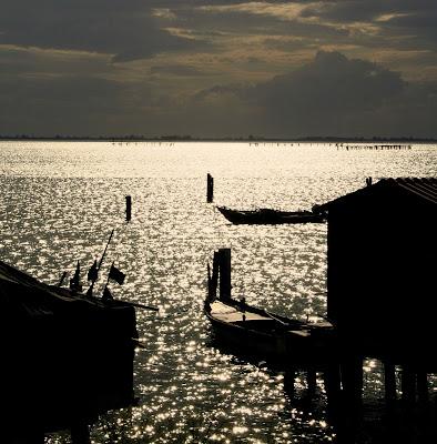 Ultime luci sul delta del Po di Norasmind