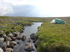 A perfect campsite