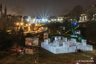 Photo: Spectra, Festival of Light, February 2015, Aberdeen