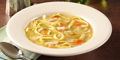 amish church soup with potatoes and noodles