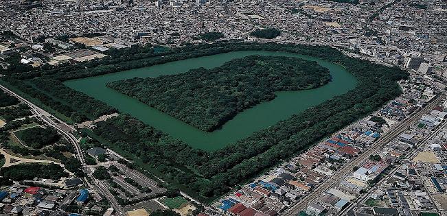 La tumba del emperador Nintoku el Kofun mas grande del Mundo.