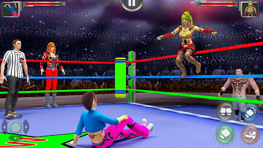 Women Wrestling Revolution PRO  screenshots 2