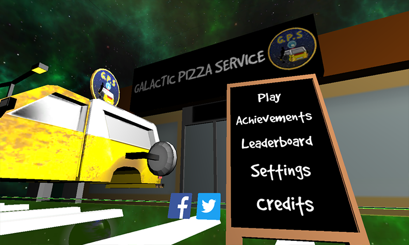 Galactic Pizza Service- screenshot
