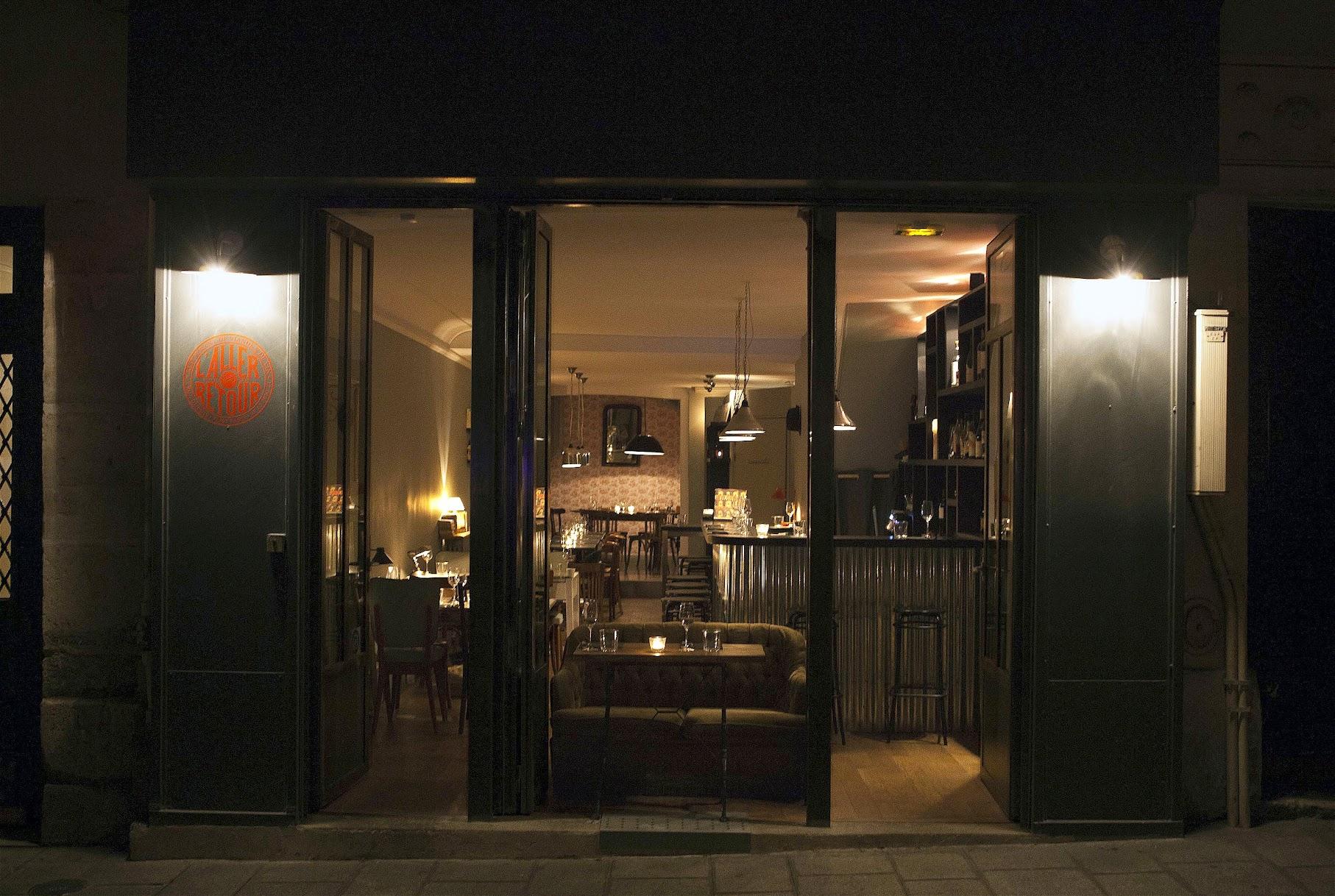 L'aller Retour Paris 肉 レストラン ステーキ 牛肉 シンメンタール牛
