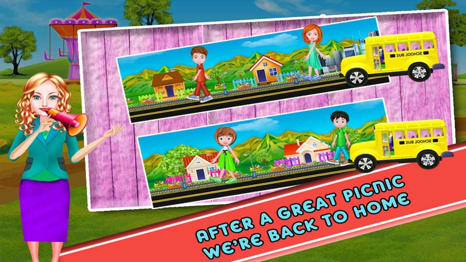 School Trip for Kids- screenshot