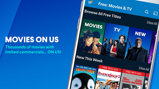 vudu - rent, buy or watch movies with no fee! screenshot 2