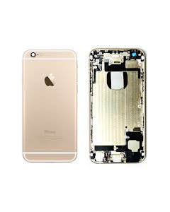 iPhone 6G Back Housing with small parts Original Pulled Gold