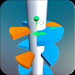 Spiral Jump Tower Icon