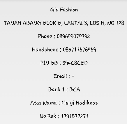Gio Fashion